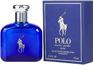 Ralph Lauren Polo Blue for Men Eau de Toilette Spray, 2.5 Fluid Ounce