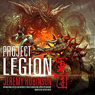 Project Legion     Nemesis Saga, Book 5              By:                                                                                                                                 Jeremy Robinson                               Narrated by:                                                                                                                                 Jeffrey Kafer                      Length: 8 hrs and 31 mins     331 ratings     Overall 4.6