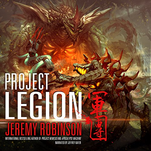 Project Legion audiobook cover art