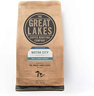GREAT LAKES COFFEE FTO Motor City Blend Beans, 12 Ounce