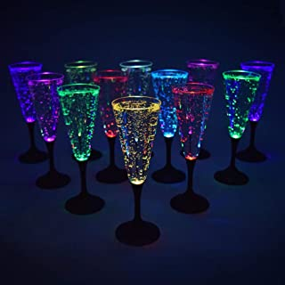 Best glow in the dark champagne glasses Reviews