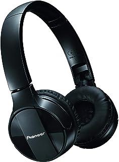 Pioneer Bluetooth Lightweight On Ear Wireless Stereo Headphones , Black SE-MJ553BT(K)