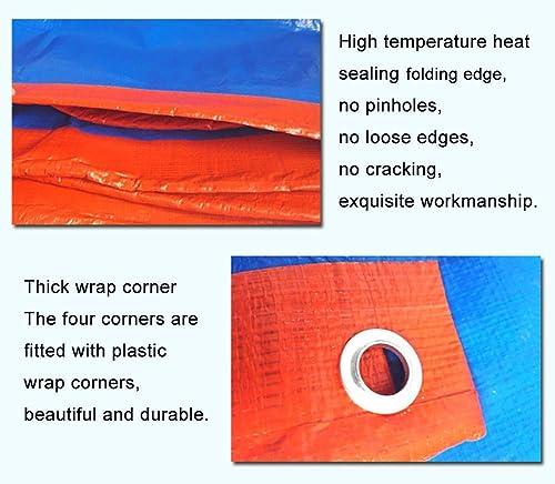ZLL Bache extérieure Imperméable-Imperméable Bache de prougeection solaire Bache Store pare-pluie Toile de hangar Couverture de revêtement de sol avec oeillet 180G   M2,6 × 10m