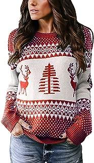Best red reindeer sweater Reviews