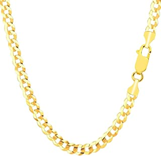 cuban link 14k gold necklace