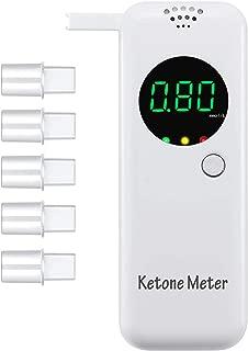 Ketone Breath Meter with Digital LCD Displays for Dietitian Testing