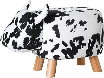 Amazon Com Merax Fun Series Upholstered Ride On Storage