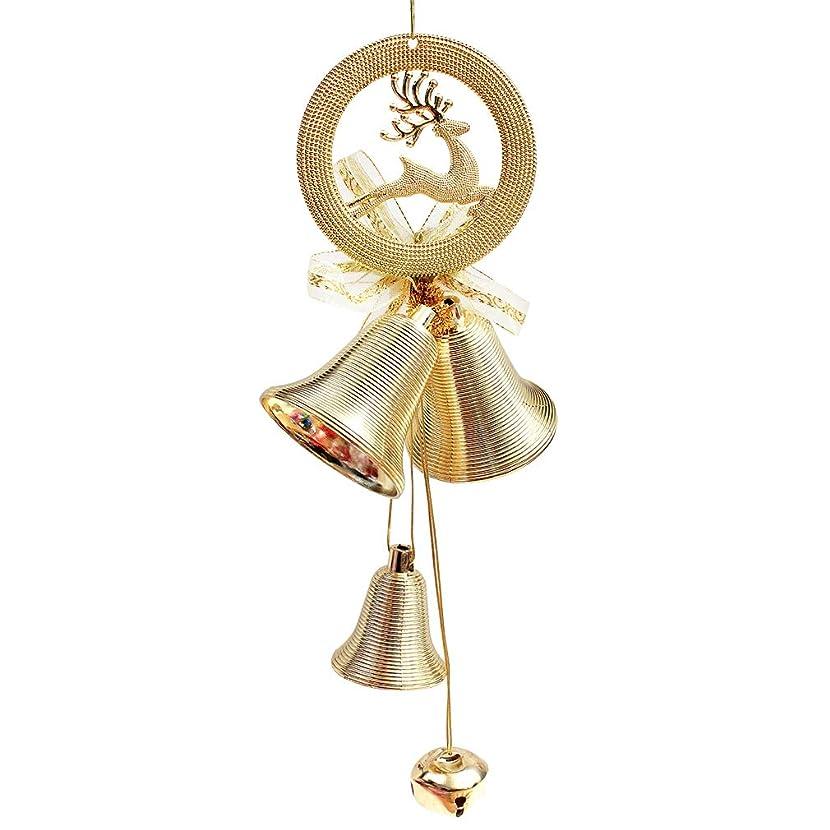 衛星舌なジャズBa-style(バスタイル) クリスマス ベル クリスマスツリー 飾り 掛け物 装飾 鈴 花輪 掛け飾り 布置 道具 用品 (yellow)