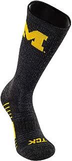 TCK Brands University Far Trek Pure Merino Wool Performance Full Cushion Crew Sock