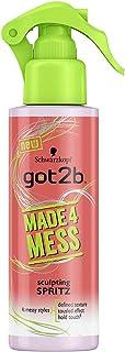 Schwarzkopf Got2b Made 4 Mess Sculpting Spritz Hair Spray, 150ml