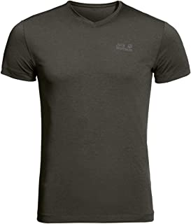 Jack Wolfskin Jwp T Men's Quick Drying Odor Inhibiting Travel T-Shirt