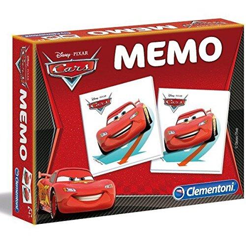 Clementoni - 13403 - Jeu Éducatif et Scientifique - Memo Games - Cars 2