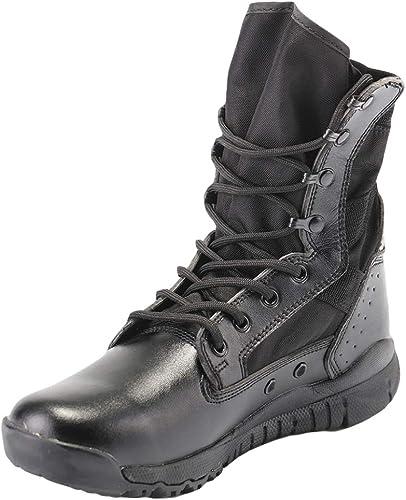 Bottes Tactiques Militaires pour pour Hommes Bottes De Combat Haut De Gamme pour Le Désert Escalade Randonnées De Forces Spéciales Chaussures pour Hommes Chaussures De Sport en Plein Air  grosses soldes