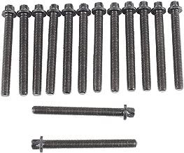 DNJ HBK847 Head Bolt Kit for 1991-2006 / BMW / 323Ci, 323i, 323is, 325Ci, 325i, 325is, 325xi, 328Ci, 328i, 328is, 330Ci, 330i, 330xi, 525i, 528i, 530i, X3, X5, Z3, Z4 / 2.5L, 2.8L, 3.0L / L6 / DOHC /