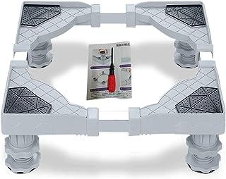 洗濯機 置き台 高さ調節 洗濯機 台 かさ上げ 伸縮式 ドラム式や全自動洗濯機に対応 幅45~58cm 奥行き50~60cm 騒音防止対策