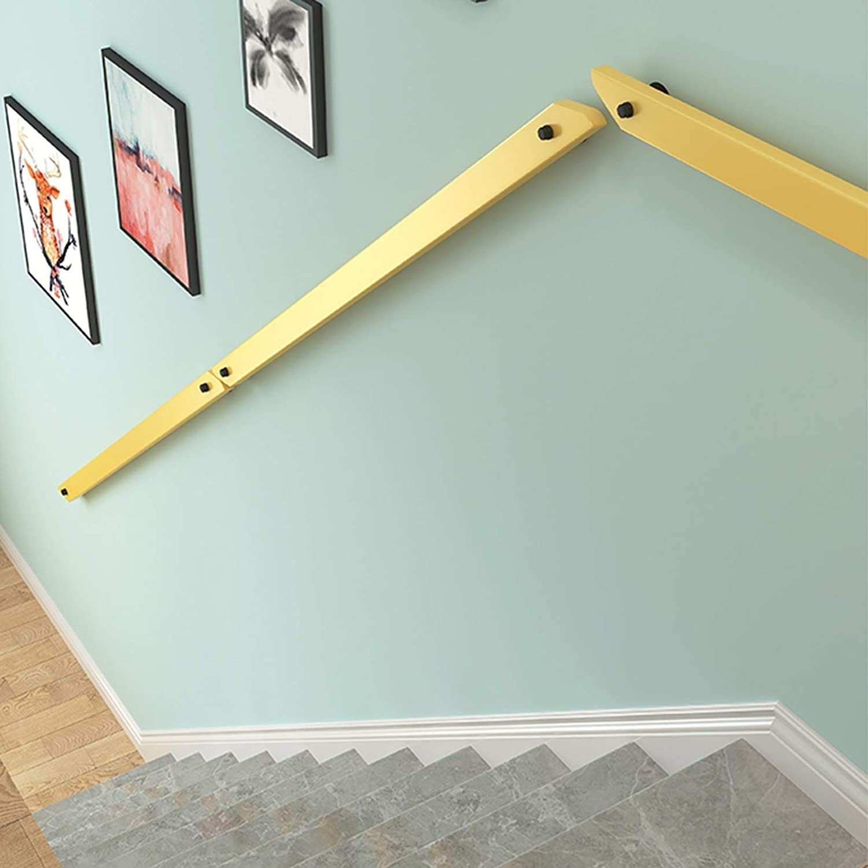WZHONG Modern 超目玉 舗 Wooden Handrail Grab Bar Kit Outdoor Wall Indoor