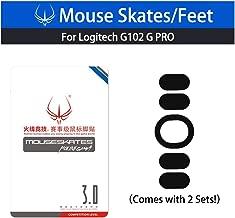 Generic Mouse Skatez & Mouse Feet & Mice Feet & Mouse Skates & for Logitech (Logitech G102 G PRO)