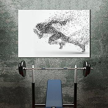 sports canvas wall art