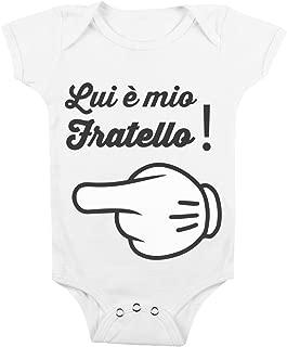 Body Simpatico Bimbi da 3 a 24 Mesi by tshirteria Body da Neonato Che Mondo Sarebbe Senza la Mamma