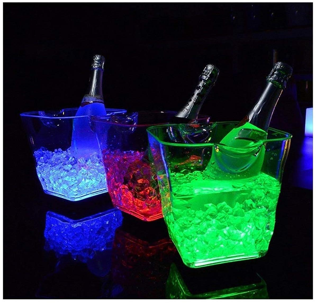 抜粋トークン課税ワインクーラー シャンパンクーラーワインタブチラー、ドリンククーラー、シャンパンワインビール用パーティードリンクチラー結婚式、特別なイベントやパーティー屋内または屋外パーティーに最適 カスタマイズ可能なロゴ (Color : Blue)