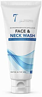 Microdermabrasion Facial Scrub & Face Exfoliator, Face & Neck Scrub and Wash - Face and Body Wash for KP and More - XLarge...