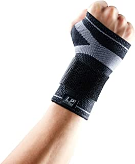 LP SUPPORT LP Support X-Tremus 130XT Men's Wrist Brace - Support Grasp Power, Prevent and Relieve Carpal Tunnel - Breathable Fabric (XXL)