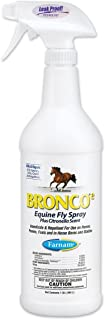 Bronco E Equine Fly Spray Plus Citronella Scent, 1 Quart