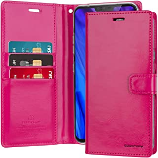 GOOSPERY LG V40 Case, LG V40 ThinQ Case [Drop Protection] Blue Moon Diary [Slim Fit] Wallet Case [Card Slots] Stand Flip C...