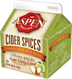 Aspen Mulling Cider Spice - Caramel Apple Spice Blend - Apple Cider Drink - 5.65 oz Carton