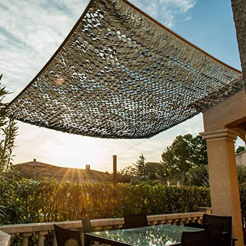 WerkaPro 11095 - Toile d'Ombrage Ajourée - 120 g/m2 - En Polyester - Rectangulaire - 2 x 3 m - Taupe - Pour Balcon, terrasse et Jardin