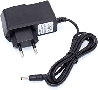 Batería vhbw 220V Cargador 4W con Conector Redondo para Logitech Harmony 720, 880, 885, 890, 1000, Dinovo Edge por DSA-0051-FUS, L-LD2, L-LD4, L-LD4-2