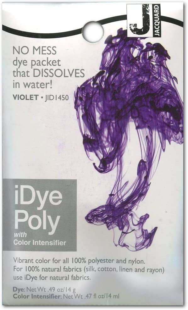half Jacquard iDye Fabric Polyester For Dye-Violet It is very popular