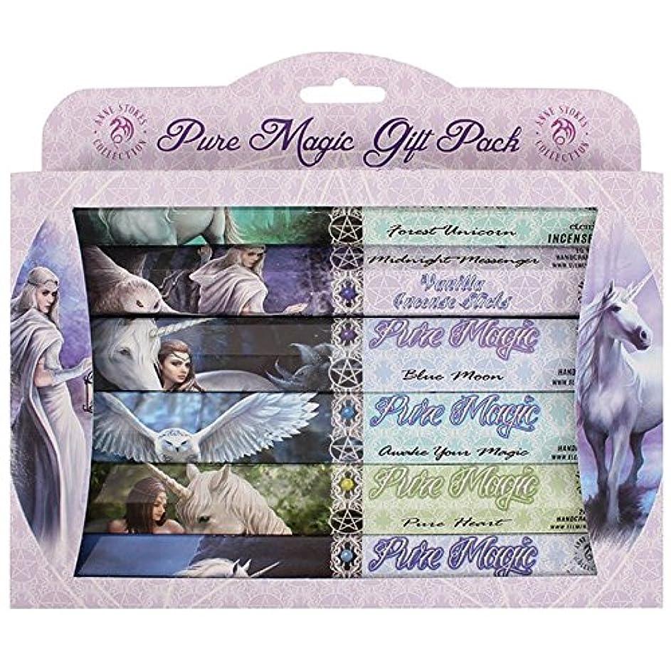 エクスタシー菊印象的なAnne Stokes Pure Magic Incense Gift Pack 6 x 20 Sticks 6 Fragrances
