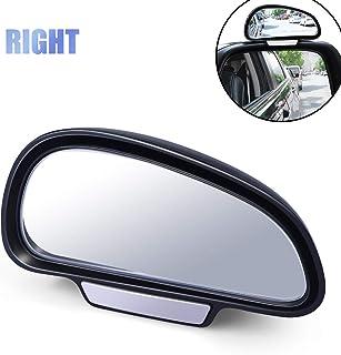 Espejo Angulo Muerto Coche,HD Ajustables Blind Spot Espejo Retrovisor Coche Canvex Espejo Retrovisor Auxiliar para Todo Tipo de Vehículos,Derecho