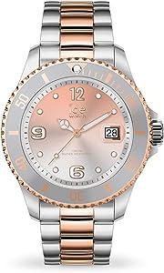 Ice Watch - Montre argentée Rose Gold Mixte Bracelet métal Ice Steel (016769)
