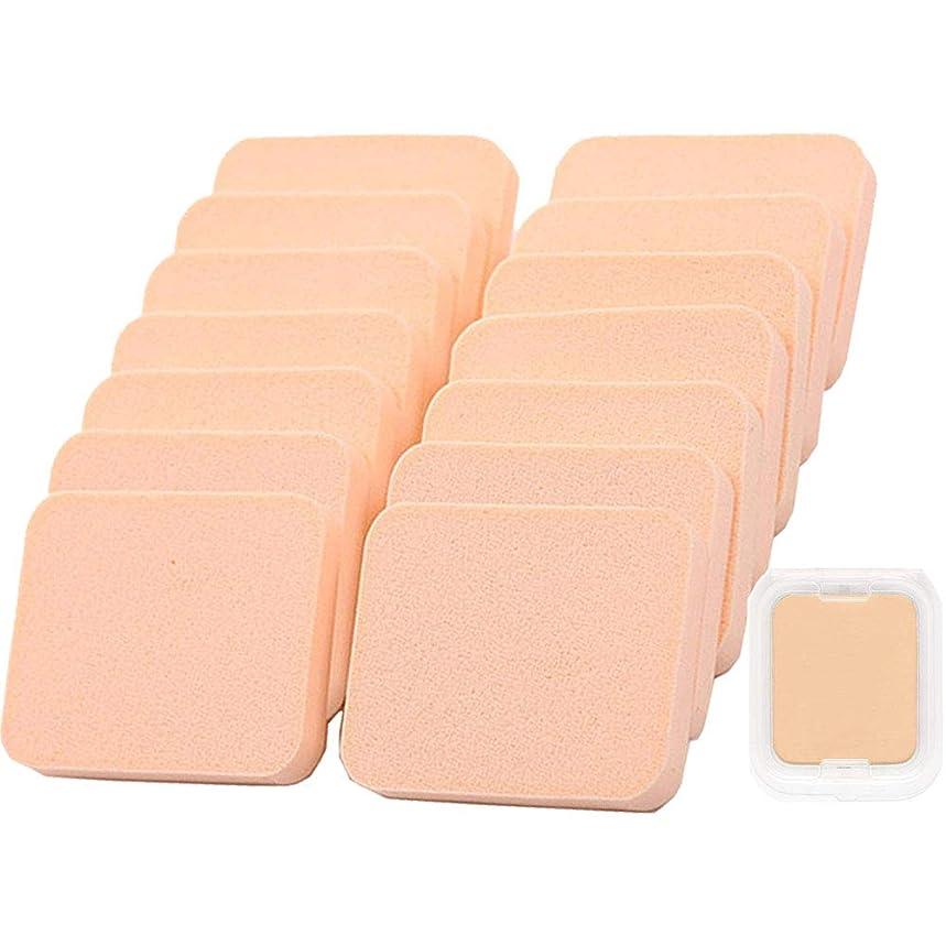 ペルー市民卵エアパフ Butokal エアクッションパフ クリーム アプリケーター 乾湿兼用 スポンジパフセット フェイシャル 15個入 化粧道具