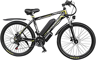 17Ah LG li-Battery Smart e-Bike Freno a Doppio Disco Shimano 21 velocit/à RICH BIT Bici elettrica RT-022 1000W Motore brushless 48V