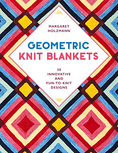 Geometric Knit Blankets Book