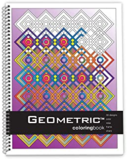 Action Publishing Coloring Book: Geometric · Meditative Patterns and Designs for Stress Relief, Relaxation and Creativity ...