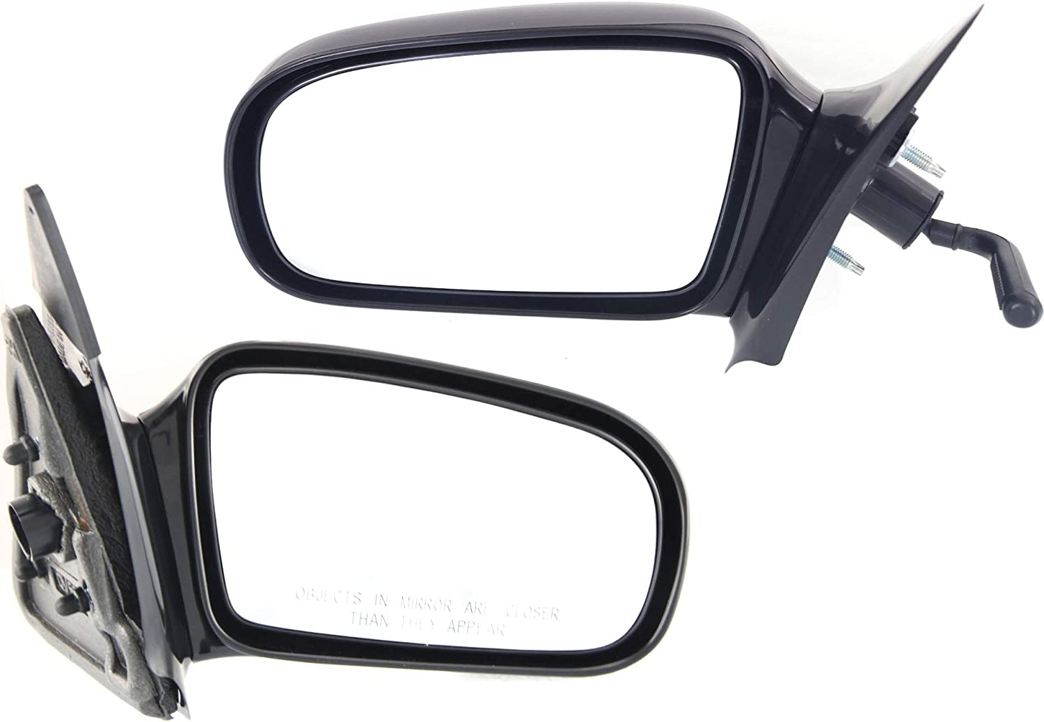 Kool Vue Manual Mirror OFFicial site Remote Chevy Cavalier Sun New item compatible with
