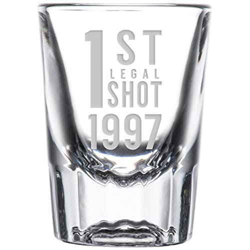1st Legal Shot Glass 1997