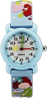 Kinderhorloge 3D Siliconen Horloge Leuke Cartoon Waterdicht Quartz Horloge Basisschool Kinderen Kinderen kijken