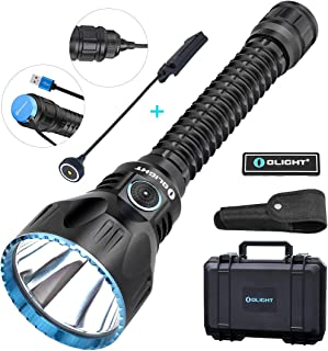 OLIGHT Javelot Pro 2100 Lumens Cree XHP35 HI NW LED Beam Distance of 1080 Meters Rechargeable Tactical Flashlight for Hunting, Search & Rescue and Magnetic Remote Switch Included