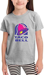 Taco Bell is Bae Short Sleeve T-Shirt Kids Tee Top for Boys & Grils 2-6 Years Old