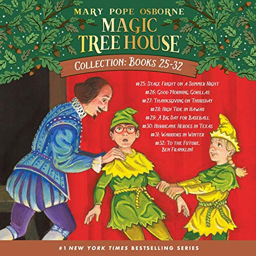 Magic Tree House Collection: Books 25-32 cover art