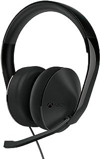 Microsoft Auriculares alámbricos, Estéreo, Circumaural, 20Hz, 20kHz, Minifono, color Negro - Xbox One Stereo Headset Edition