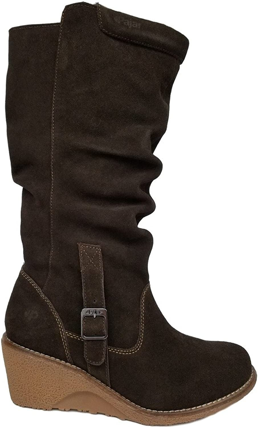 Pajar Women's Valerie Leather Winter Water-Resistant Boo