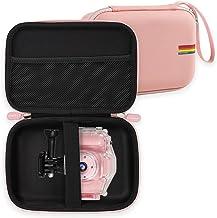 قاب دوربین بچه گانه Leayjeen اسباب بازی دوربین ضد آب Agoigo Kids برای دختران پسرهای 3 تا 12 ساله (فقط مورد) (صورتی)