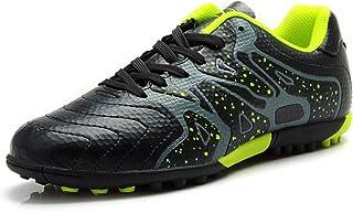 Tiebao Boys' Hard Ground Indoor Speed Pu Leather Football Shoes