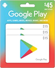 Amazon.com: Google Play 45 Dólares tarjeta de tarjeta de ...